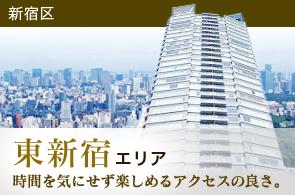 東新宿エリアのタワーマンション