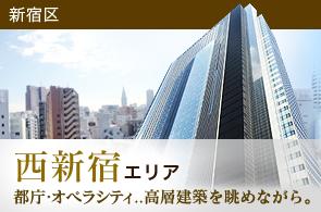 西新宿エリアのタワーマンション